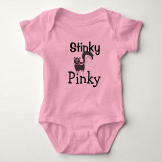 Stinky Pinky Skunk Girls baby tee