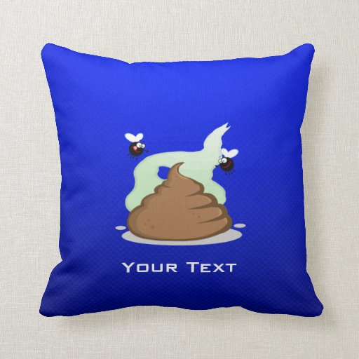 Stinky Poo; Blue Pillows