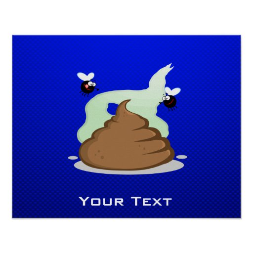 Stinky Poo; Blue Posters
