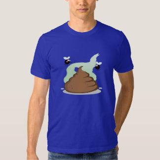 Stinky Poo; Blue T Shirts