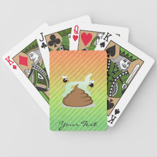 Stinky Poo design Bicycle Playing Cards