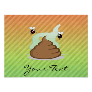 Stinky Poo design Print