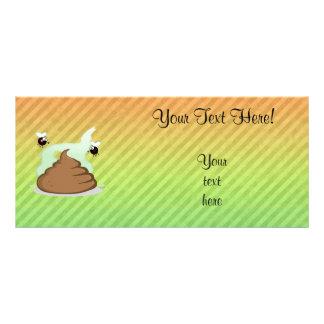 Stinky Poo design Full Color Rack Card