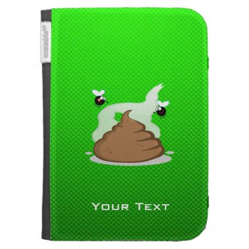 Stinky Poo; Green Kindle Keyboard Case