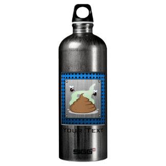 Stinky Poo; Metal-look SIGG Traveler 1.0L Water Bottle