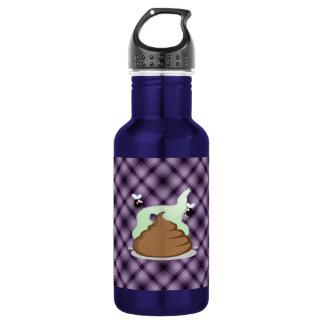 Stinky Poo; Purple 18oz Water Bottle