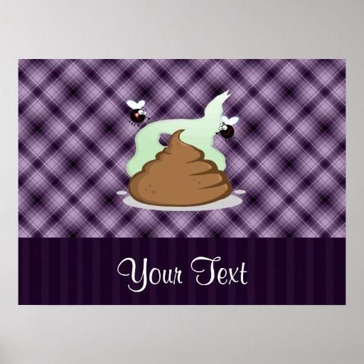 Stinky Poo; Purple Posters