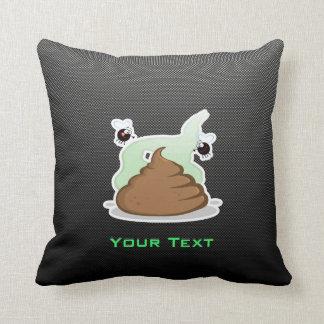 Stinky Poo; Sleek Throw Pillows