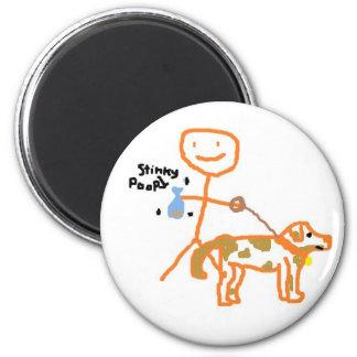 Stinky Poop Magnet