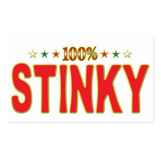Stinky Star Tag Business Cards