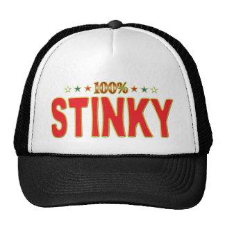 Stinky Star Tag Mesh Hats