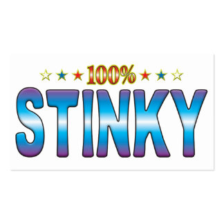 Stinky Star Tag v2 Business Card Template