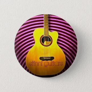 Stinni guitars 2 inch round button