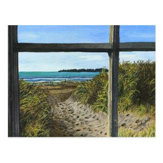 Stinson Beach, CA - Mini Collectible Prints Postcard
