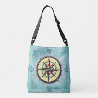 Stipes Nautical Compass Bag