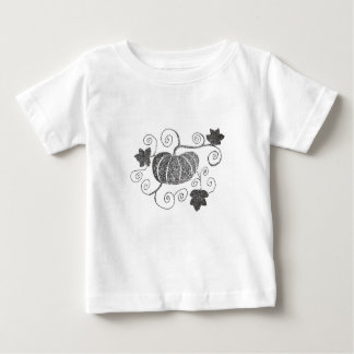 Stippled Pumpkin Baby T-Shirt