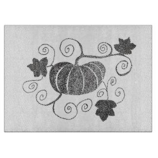 Stippled Pumpkin Boards