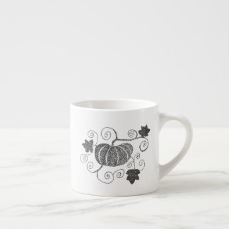 Stippled Pumpkin Espresso Cup
