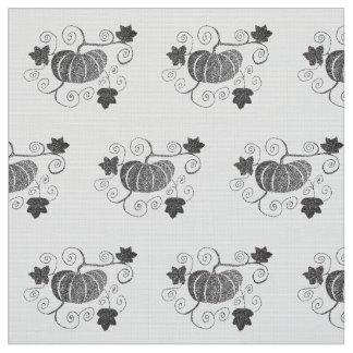 Stippled Pumpkin Fabric