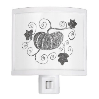Stippled Pumpkin Nite Lite