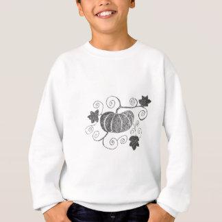 Stippled Pumpkin Sweatshirt