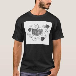 Stippled Pumpkin T-Shirt
