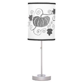 Stippled Pumpkin Table Lamp
