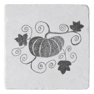 Stippled Pumpkin Trivet