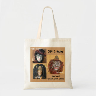 Stir Crazies Canvas Tote Bag