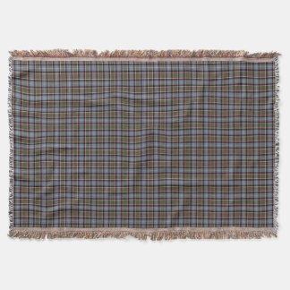 Stirling and Bannockburn Scotland District Tartan Throw Blanket