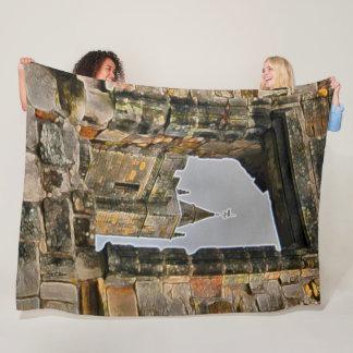 Stirling Castle, Scotland Acrylic Art Fleece Blanket