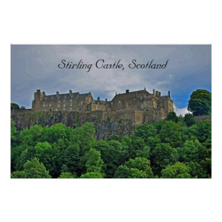 Stirling Castle, Scotland Poster