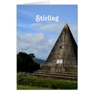 Stirling Scotland Card