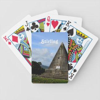 Stirling Scotland Poker Deck