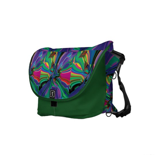 Stirred up colours messenger bags