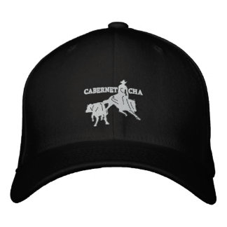 Stitch Cabernet CHA Noir Casquette Blanc Embroidered Hats