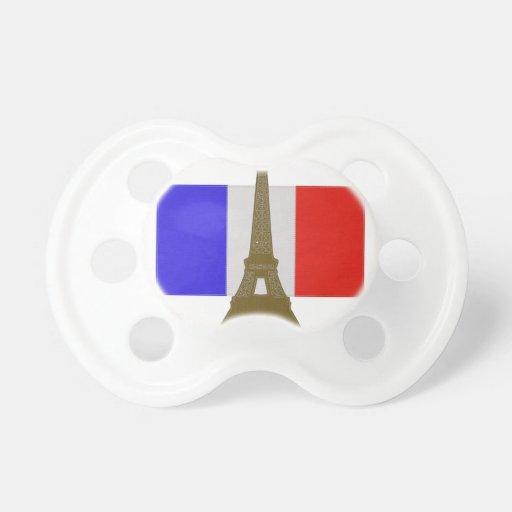Stitch Eiffel Tower Pacifier