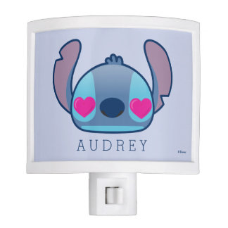 Stitch Emoji - Add Your Name Nite Lights