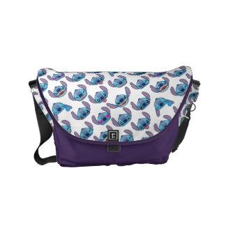 Stitch Emoji Pattern Commuter Bag