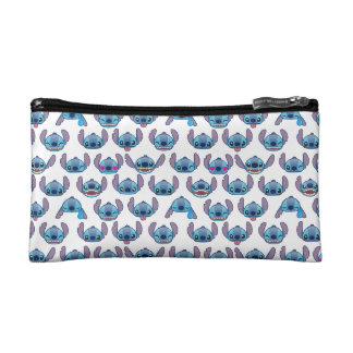 Stitch Emoji Pattern Cosmetics Bags