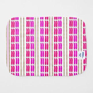 Stitch on stitch pink purple spucktücher