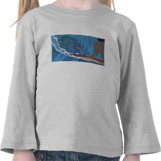 Stitch Surfing Scene Tees