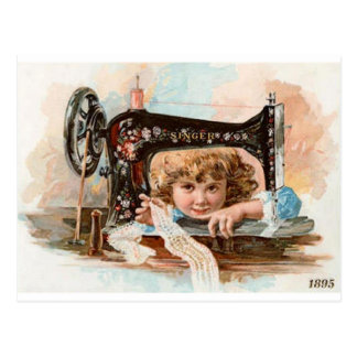 Stitches 1895 postcard