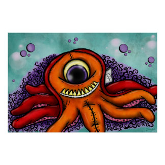 Stitches and Ink - Art Print