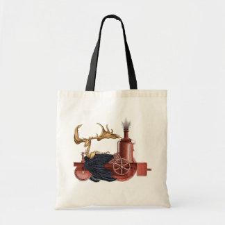 Stitchpunk Caribou bag. Tote Bag