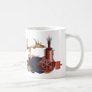stitchpunk Caribou cup Basic White Mug