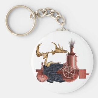 Stitchpunk Caribou Keychain