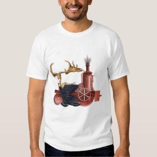 Stitchpunk Caribou t-shirt-white T-shirt