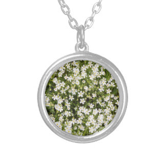 Stitchwort Stellaria Wild Flowers Necklace