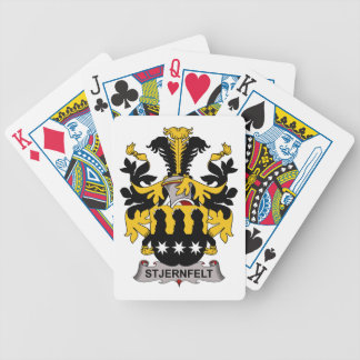 Stjernfelt Family Crest Bicycle Playing Cards